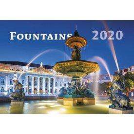 Helma Brunnen - Fountains Kalender 2020