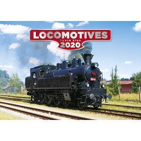 Helma Dampflokomotive - Locomotives Kalender 2020