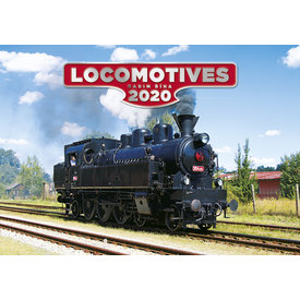 Helma Stoomlocomotief - Locomotives Kalender 2020