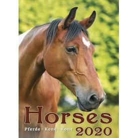 Helma Pferde 24x33 Kalender 2020