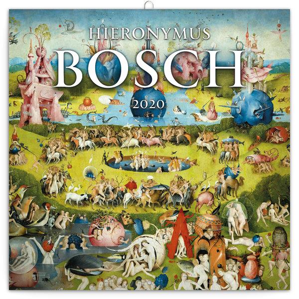 Presco Hieronymus Bosch Tuin der Lusten Kalender 2020