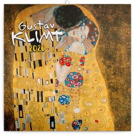 Presco Gustav Klimt Kalender 2020