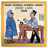 Josef Lada Features Schwejk's Best Moments In Writing Kalender 2020