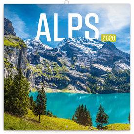 Presco Alpen - Alps Kalender 2020