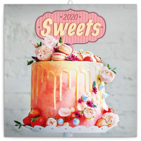 Süßigkeiten - Sweets Kalender 2020