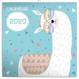 Presco Happy Llamas Kalender 2020