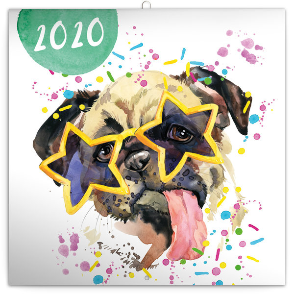 Presco Watercolour Friends Kalender 2020