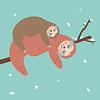 Luiaards - Happy Sloths Kalender 2020