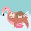 Faultiere - Happy Sloths Kalender 2020