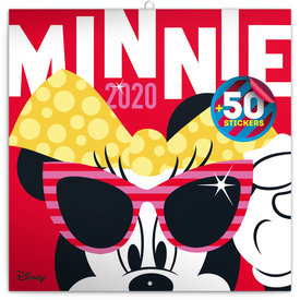 Presco Minnie Mouse Kalender 2020