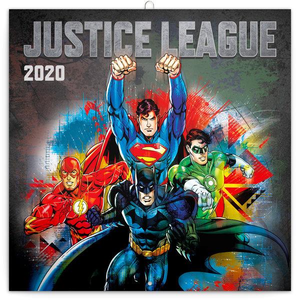 Presco Justice League DC Comics Kalender 2020