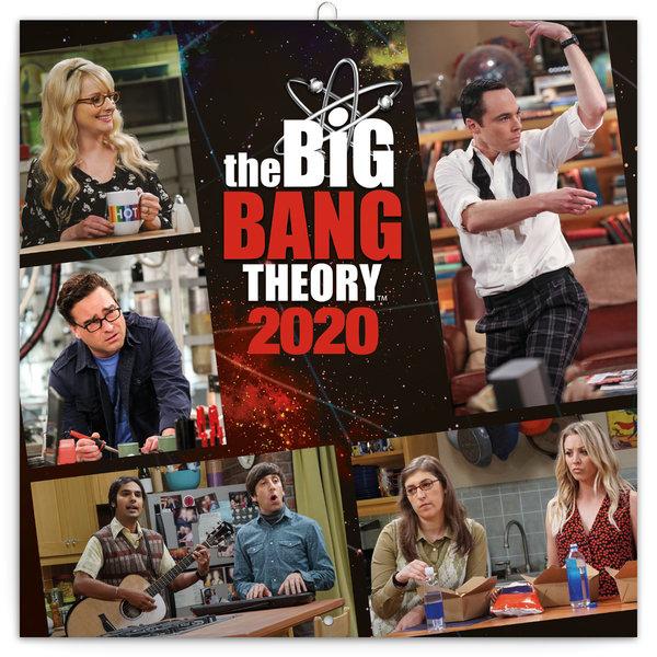 Presco The Big Bang Theory Kalender 2020