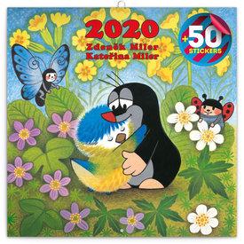 Presco Der Maulwurf - The Little Mole Kalender 2020