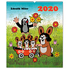Der Maulwurf - The Little Mole 48x56 Kalender 2020