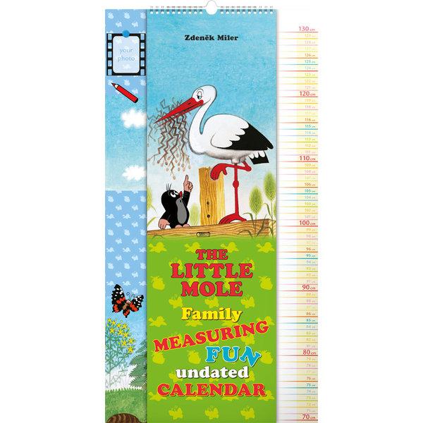 Presco Der Maulwurf - The Little Mole 33x64 Messen Kalender 2020