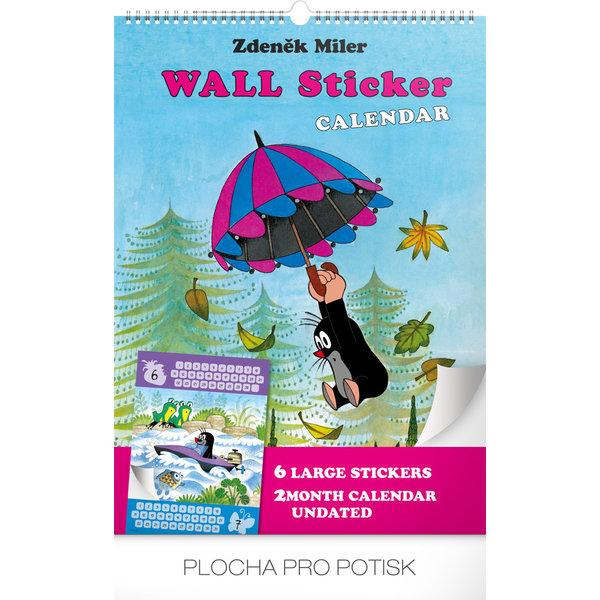 Presco Der Maulwurf - The Little Mole 33x46 Aufkleber Kalender 2020