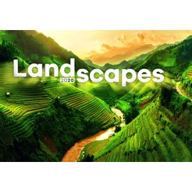 Presco Landschaften 48x33 Kalender 2020