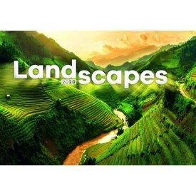 Presco Landschappen 48x33 Kalender 2020