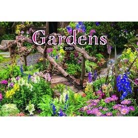 Presco Gärten - Gardens 48x33 Kalender 2020