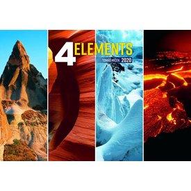 Presco 4 Elements 48x33 Kalender 2020