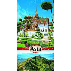Presco All About Asia 33x64 Kalender 2020