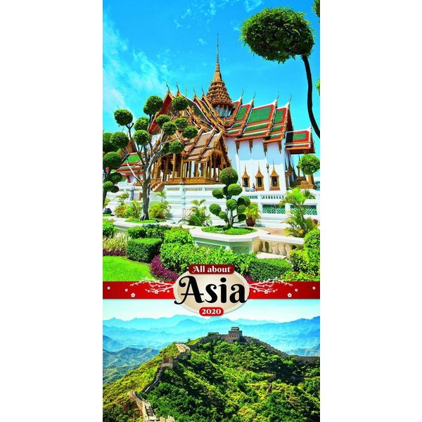 Presco Asien - All About Asia 33x64 Kalender 2020