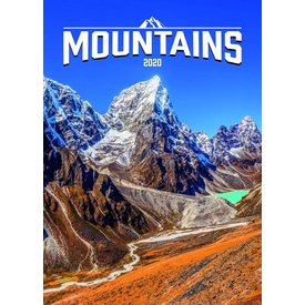Presco Bergen - Mountains 33x46 Kalender 2020