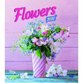 Presco Blumen - Flowers 30x34 Kalender 2020