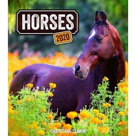 Presco Pferde - Horses 30x34 Kalender 2020