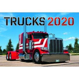 Presco Vrachtwagens - Trucks 48x33 Kalender 2020