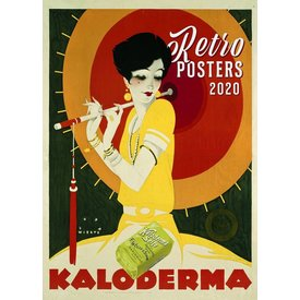 Presco Retro Posters 33x46 Kalender 2020