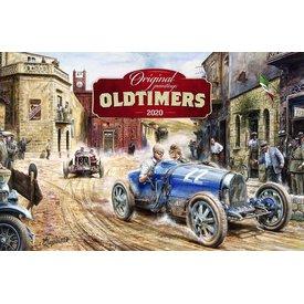 Presco Oldtimers 64x42 Kalender 2020