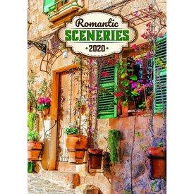 Presco Romantic Sceneries 33x46 Kalender 2020