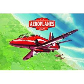 Presco Flugzeuge 64x42 Kalender 2020