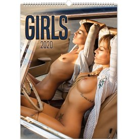 Presco Girls 33x46 Kalender 2020