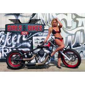 Presco Girls & Bikes 48x33 Kalender 2020