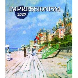 Presco Impressionismus 48x56 Kalender 2020