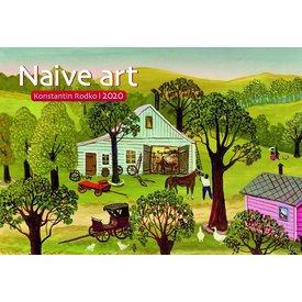 Presco Naïeve Kunst 48x33 Kalender 2020