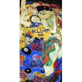 Presco Gustav Klimt 33x64 Kalender 2020