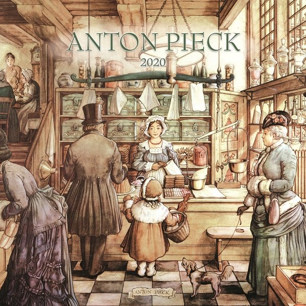 Plenty Gifts Anton Pieck Kalender 2020