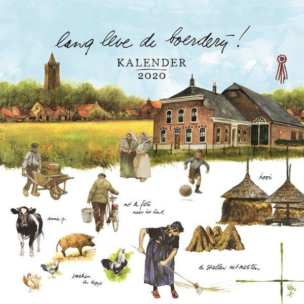 Comello Rien Poortvliet Bauernhof Kalender 2020