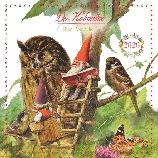Comello Gnome - Rien Poortvliet Kabouter Kalender 2020