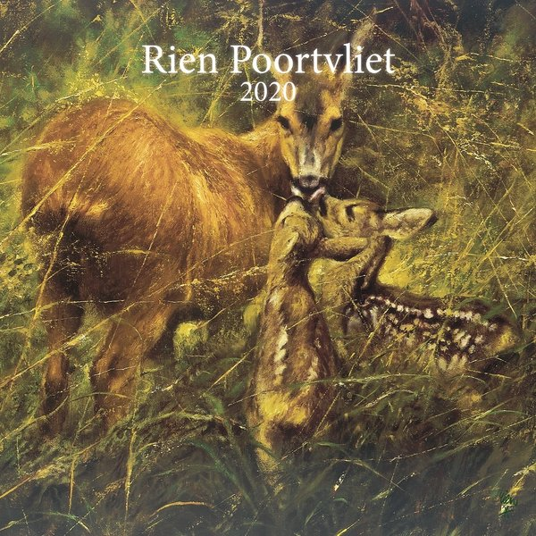 Comello Rien Poortvliet Natuur Kalender 2020