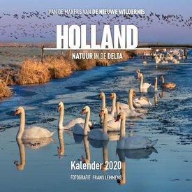 Plenty Gifts Holland Natuur in de Delta Kalender 2020