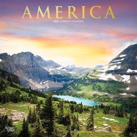 Browntrout Amerika Kalender 2020