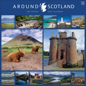 Carousel Around Scotland in 365 Days Kalender 2020