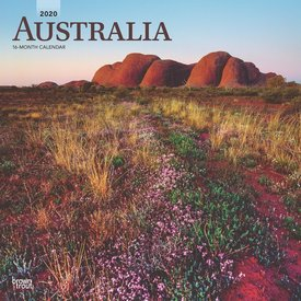 Browntrout Australie - Australia Kalender 2020
