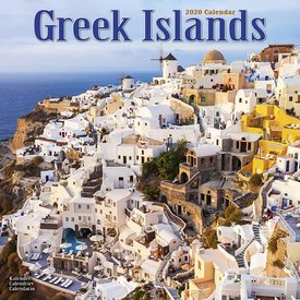 Avonside Griekse Eilanden - Greek Islands Kalender 2020