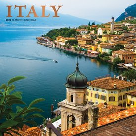Browntrout Italy - Italien Kalender 2020
