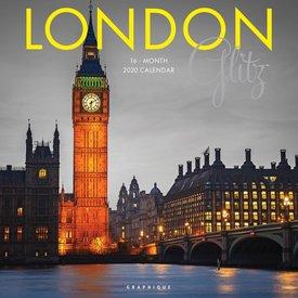 Graphique de France London Glitz Kalender 2020